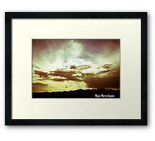 Heavenly Showcase Framed Print