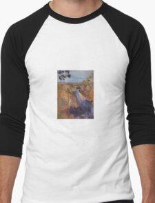 Towards Kilmore East - before the fires. Vic Australia Men's Baseball ¾ T-Shirt