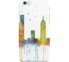 Melbourne, Victoria Skyline  iPhone Case/Skin