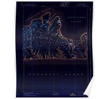 Massachusetts  USGS Historical Topo Map MA Marthas Vineyard 352844 1894 62500 Inverted Poster