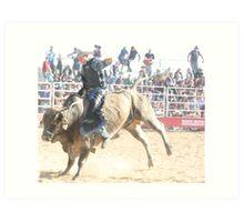 Deniliquin Rodeo 2010   Art Print