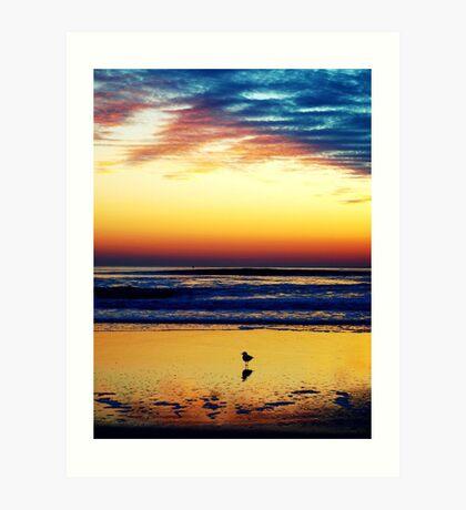 An Ocean Sunrise Dream - St.Augustine Beach, FL Art Print