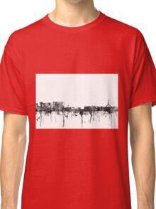 Canberra, ACT Skyline - B&W Classic T-Shirt