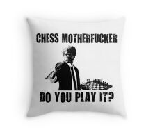 Funny Rude Chess Do You Play It Throw Pillow