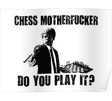 Funny Rude Chess Do You Play It Poster