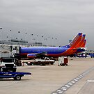 Southwest Airlines Chicago USA Airport by Jonathan  Green