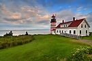 West Quoddy Light - Maine by JHRphotoART