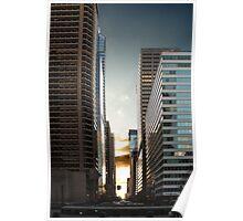 Philadelphia Skyscraper Poster