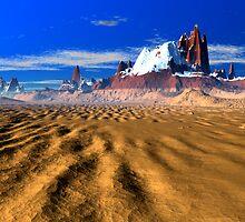 High Desert Winter by AlienVisitor