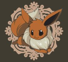 Lace Eevee by haunted-haunter