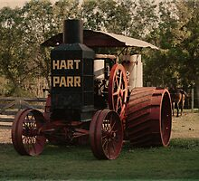 1911 Hart Parr 30-60 Tractor by lar3ry