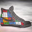 Rubik's Shoes by Garrett Nichols