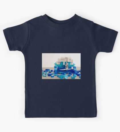 Surfing the Storm Kids Tee