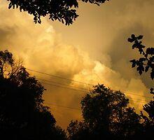 stormy sunset by bryancorbinart