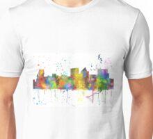 Witchita, Kansas Skyline Unisex T-Shirt