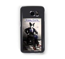 Cool Cat Samsung Galaxy Case/Skin