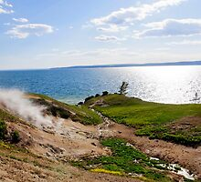 Yellowstone Lake by mlgphotography