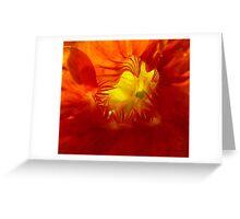 Fiery Greeting Card