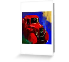 The old red truck Greeting Card