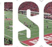 wisco stadium  Sticker