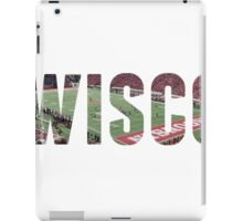 wisco stadium  iPad Case/Skin