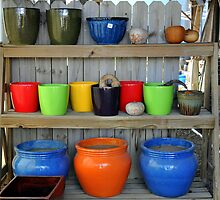 Pretty pots all in a row by patticake