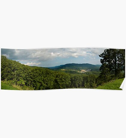 Blue Ridge Parkway Panoramic Poster