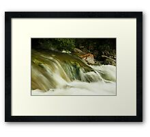 Stream of dreams Framed Print