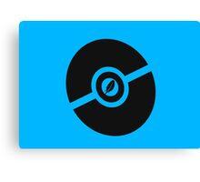 Pokemon Pokeball Flying Canvas Print