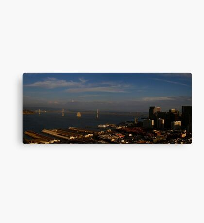 San Francisco Embarcadero Canvas Print