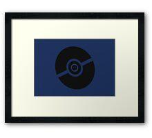 Pokemon Pokeball Ghost  Framed Print