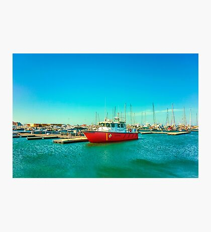 Santa Marta Port Photographic Print