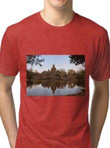 Temple Reflection Tri-blend T-Shirt
