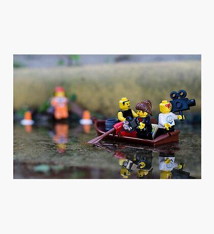 Media Floods Photographic Print