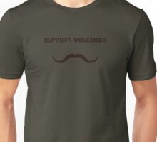 Movember: Support it! Unisex T-Shirt