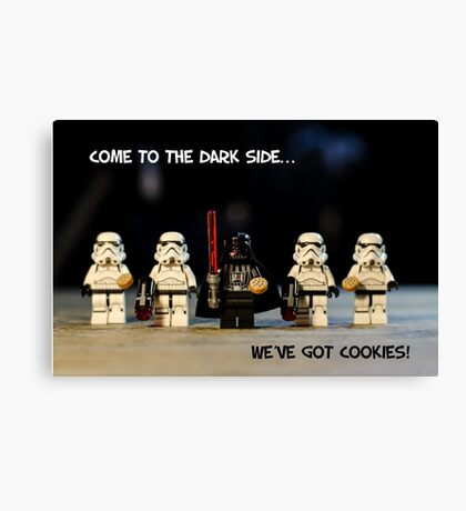Dark Side Cookies Canvas Print