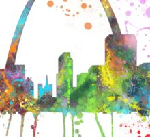 St Louis, Missouri Skyline  Sticker