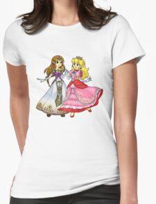Zelda X Peach Womens Fitted T-Shirt