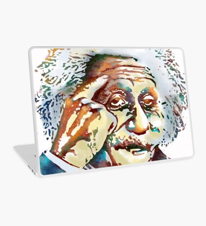 Albert Einstein Laptop Skin