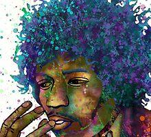 Jimmy Hendrix by Marlene Watson
