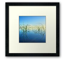 Early morning tranquility on Moreton Island Framed Print