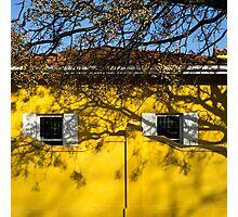 yellow house Photographic Print