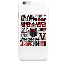 BTS Collage iPhone Case/Skin