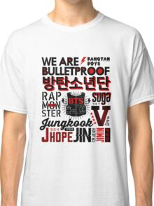 BTS Collage Classic T-Shirt