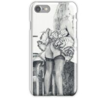 Lipstick and legs iPhone Case/Skin