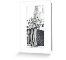 Lipstick and legs Greeting Card