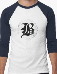 beartooth logo Men's Baseball ¾ T-Shirt