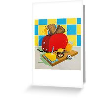 Toast! by Sophie Green Greeting Card