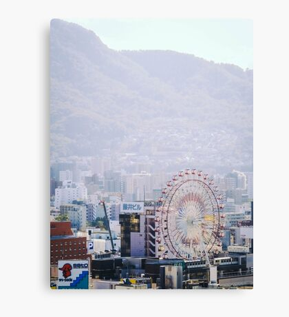 Susukino Ferris Wheel Canvas Print