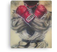 """airbrush """"Ryu"""" Artwork Canvas Print"""